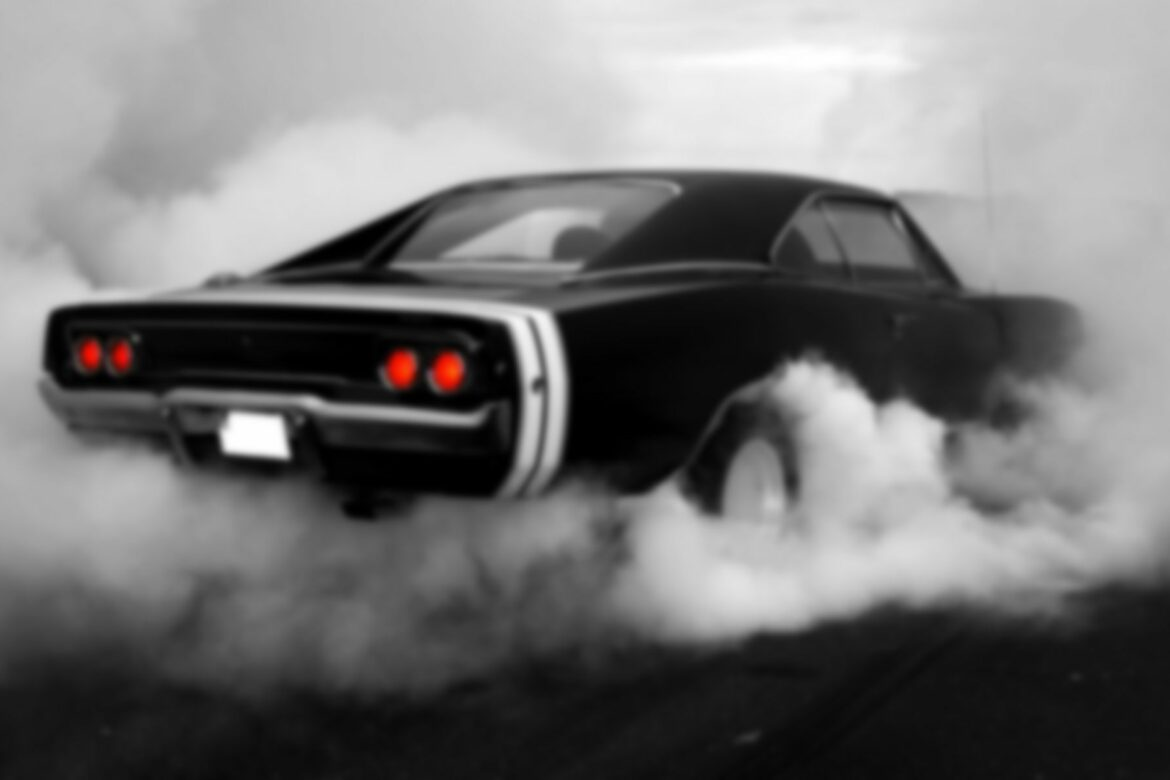 muscle_cars_1969_monochrome_dodge_charger_rt_burnout_hot_rod_smoke_muscle_car_tuning_1440x900
